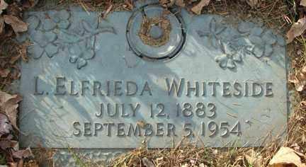 BULL WHITESIDE, LUCILLE ELFRIEDA - Minnehaha County, South Dakota | LUCILLE ELFRIEDA BULL WHITESIDE - South Dakota Gravestone Photos