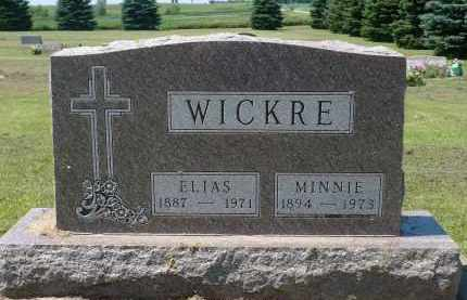 WICKRE, ELIAS - Minnehaha County, South Dakota | ELIAS WICKRE - South Dakota Gravestone Photos