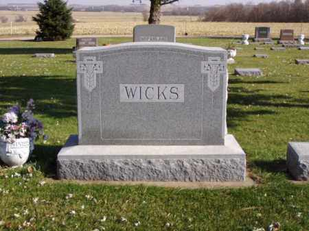 WICKS, GEORGE A. - Minnehaha County, South Dakota | GEORGE A. WICKS - South Dakota Gravestone Photos