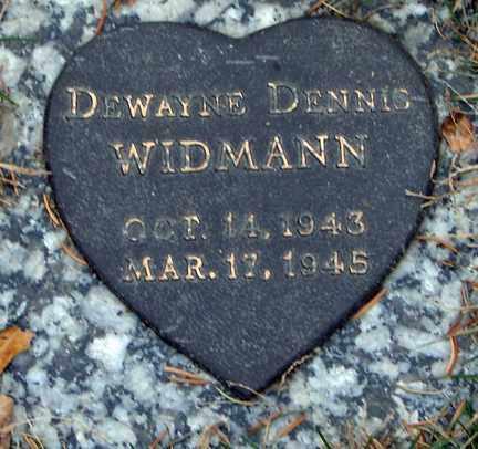 WIDMANN, DEWAYNE DENNIS - Minnehaha County, South Dakota | DEWAYNE DENNIS WIDMANN - South Dakota Gravestone Photos