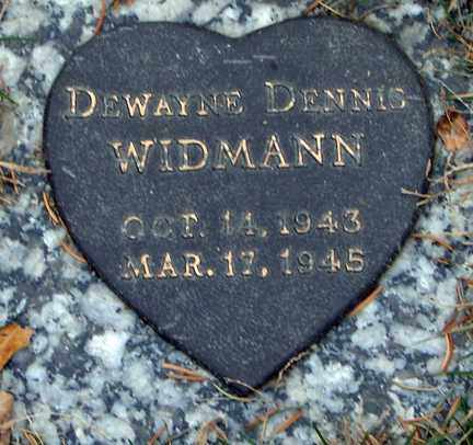 WIDMANN, DEWAYNE DENNIS - Minnehaha County, South Dakota | DEWAYNE DENNIS WIDMANN - South Dakota Gravestone Photos