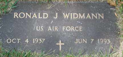 WIDMANN, RONALD J. (MILITARY) - Minnehaha County, South Dakota | RONALD J. (MILITARY) WIDMANN - South Dakota Gravestone Photos