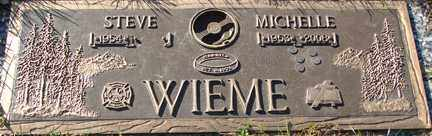 CARSRUD WIEME, MICHELLE D. - Minnehaha County, South Dakota   MICHELLE D. CARSRUD WIEME - South Dakota Gravestone Photos