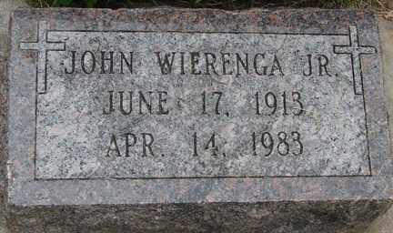 WIERENGA, JOHN JR. - Minnehaha County, South Dakota | JOHN JR. WIERENGA - South Dakota Gravestone Photos