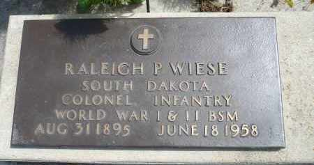 WIESE, RALEIGH P. - Minnehaha County, South Dakota | RALEIGH P. WIESE - South Dakota Gravestone Photos