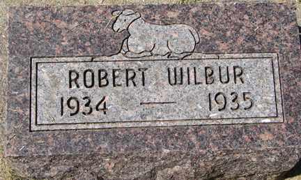 WILBUR, ROBERT - Minnehaha County, South Dakota | ROBERT WILBUR - South Dakota Gravestone Photos