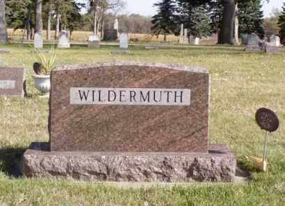 NUSS WILDERMUTH, LOREEN - Minnehaha County, South Dakota | LOREEN NUSS WILDERMUTH - South Dakota Gravestone Photos
