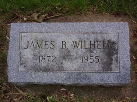 WILHELM, JAMES BERT - Minnehaha County, South Dakota | JAMES BERT WILHELM - South Dakota Gravestone Photos