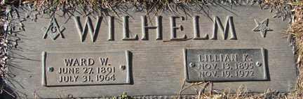 WILHELM, WARD W. - Minnehaha County, South Dakota | WARD W. WILHELM - South Dakota Gravestone Photos