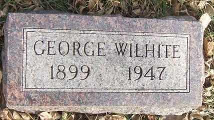 WILHITE, GEORGE - Minnehaha County, South Dakota   GEORGE WILHITE - South Dakota Gravestone Photos