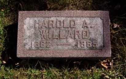 WILLARD, HAROLD A. - Minnehaha County, South Dakota | HAROLD A. WILLARD - South Dakota Gravestone Photos