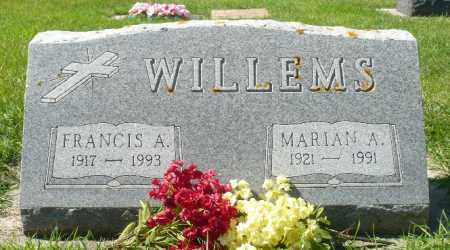 WILLEMS, MARIAN A. - Minnehaha County, South Dakota | MARIAN A. WILLEMS - South Dakota Gravestone Photos