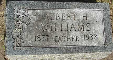 WILLIAMS, ALBERT H. - Minnehaha County, South Dakota | ALBERT H. WILLIAMS - South Dakota Gravestone Photos