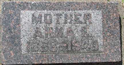 WILLIAMS, ANNA E. - Minnehaha County, South Dakota | ANNA E. WILLIAMS - South Dakota Gravestone Photos