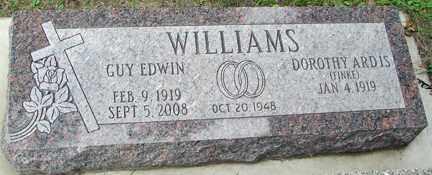 FINKE WILLIAMS, DOROTHY ARDIS - Minnehaha County, South Dakota | DOROTHY ARDIS FINKE WILLIAMS - South Dakota Gravestone Photos