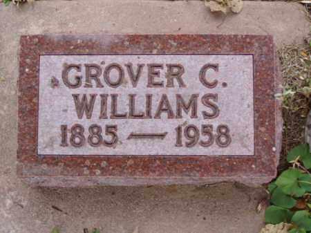 WILLIAMS, GROVER C. - Minnehaha County, South Dakota   GROVER C. WILLIAMS - South Dakota Gravestone Photos