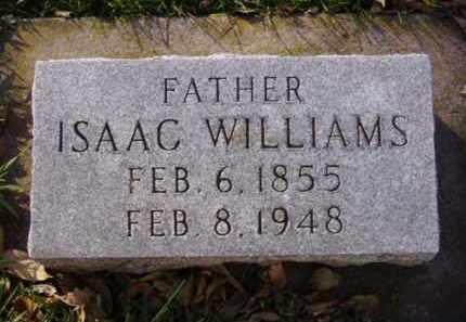WILLIAMS, ISAAC - Minnehaha County, South Dakota | ISAAC WILLIAMS - South Dakota Gravestone Photos