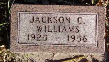 WILLIAMS, JACKSON C. - Minnehaha County, South Dakota   JACKSON C. WILLIAMS - South Dakota Gravestone Photos