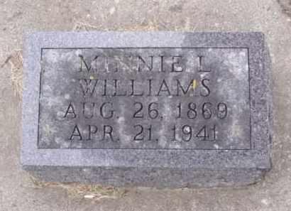 WILLIAMS, MINNIE L. - Minnehaha County, South Dakota | MINNIE L. WILLIAMS - South Dakota Gravestone Photos
