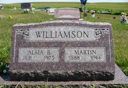WILLIAMSON, ALMA B. - Minnehaha County, South Dakota | ALMA B. WILLIAMSON - South Dakota Gravestone Photos