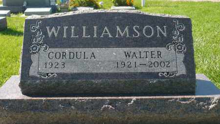 WILLIAMSON, WALTER - Minnehaha County, South Dakota | WALTER WILLIAMSON - South Dakota Gravestone Photos