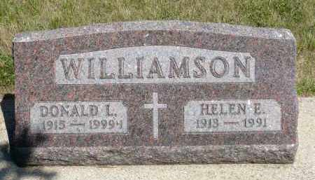 WILLIAMSON, DONALD L. - Minnehaha County, South Dakota | DONALD L. WILLIAMSON - South Dakota Gravestone Photos