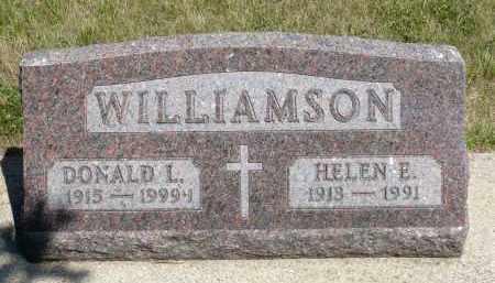 WILLIAMSON, HELEN E. - Minnehaha County, South Dakota | HELEN E. WILLIAMSON - South Dakota Gravestone Photos