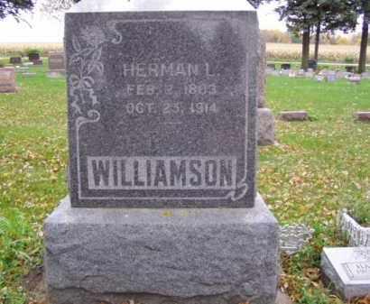WILLIAMSON, HERMAN L. - Minnehaha County, South Dakota | HERMAN L. WILLIAMSON - South Dakota Gravestone Photos