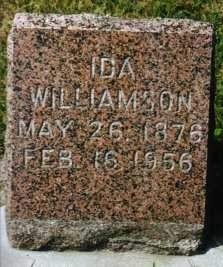 WILLIAMSON, IDA - Minnehaha County, South Dakota | IDA WILLIAMSON - South Dakota Gravestone Photos