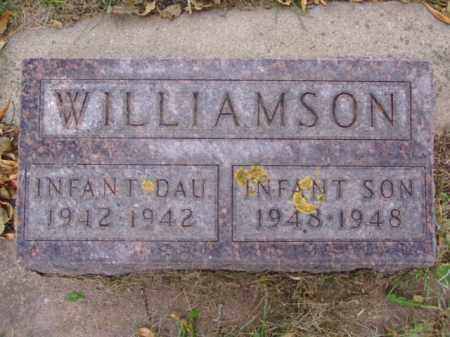 WILLIAMSON, INFANT DAUGHTER - Minnehaha County, South Dakota | INFANT DAUGHTER WILLIAMSON - South Dakota Gravestone Photos