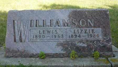 WILLIAMSON, LEWIS - Minnehaha County, South Dakota   LEWIS WILLIAMSON - South Dakota Gravestone Photos