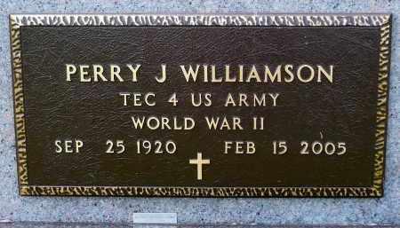 WILLIAMSON, PERRY J. - Minnehaha County, South Dakota | PERRY J. WILLIAMSON - South Dakota Gravestone Photos