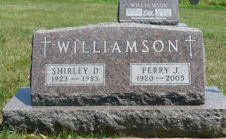 WILLIAMSON, PERRY J. - Minnehaha County, South Dakota | PERRY J. WILLIAMSON - South Dakota Gravestone Photos