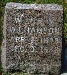 WILLIAMSON, WILHELM - Minnehaha County, South Dakota | WILHELM WILLIAMSON - South Dakota Gravestone Photos
