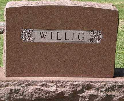 WILLIG, FAMILY MARKER - Minnehaha County, South Dakota   FAMILY MARKER WILLIG - South Dakota Gravestone Photos