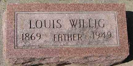 WILLIG, LOUIS - Minnehaha County, South Dakota   LOUIS WILLIG - South Dakota Gravestone Photos