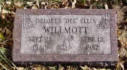 "ELLIS WILLMOTT, DELORES ""DEE"" - Minnehaha County, South Dakota | DELORES ""DEE"" ELLIS WILLMOTT - South Dakota Gravestone Photos"
