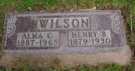 HOLM WILSON, ALMA CHRISTIANA - Minnehaha County, South Dakota | ALMA CHRISTIANA HOLM WILSON - South Dakota Gravestone Photos