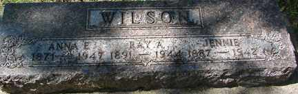 WILSON, JENNIE - Minnehaha County, South Dakota | JENNIE WILSON - South Dakota Gravestone Photos