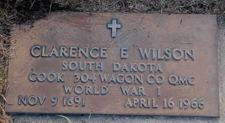 WILSON, CLARENCE E. (WW I) - Minnehaha County, South Dakota | CLARENCE E. (WW I) WILSON - South Dakota Gravestone Photos