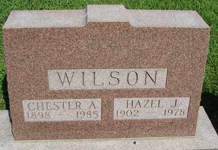 WILSON, HAZEL J. - Minnehaha County, South Dakota | HAZEL J. WILSON - South Dakota Gravestone Photos