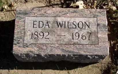 WILSON, EDA - Minnehaha County, South Dakota | EDA WILSON - South Dakota Gravestone Photos