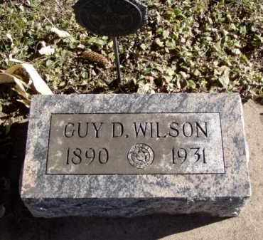 WILSON, GUY D. - Minnehaha County, South Dakota | GUY D. WILSON - South Dakota Gravestone Photos