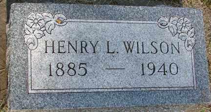 WILSON, HENRY L. - Minnehaha County, South Dakota | HENRY L. WILSON - South Dakota Gravestone Photos