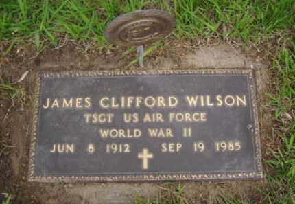 WILSON, JAMES CLIFFORD - Minnehaha County, South Dakota | JAMES CLIFFORD WILSON - South Dakota Gravestone Photos