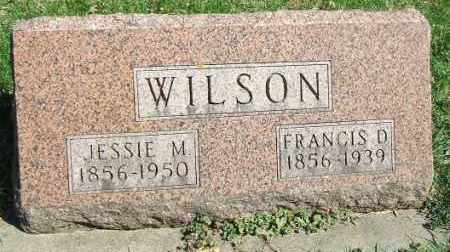 WILSON, JESSIE M. - Minnehaha County, South Dakota | JESSIE M. WILSON - South Dakota Gravestone Photos