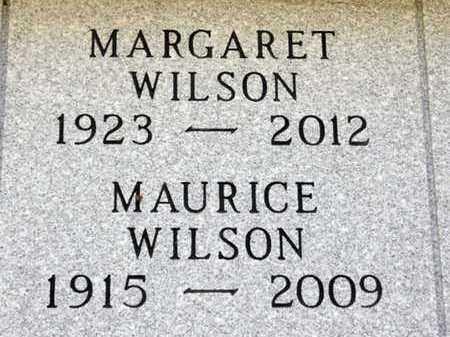 WILSON, MAURICE - Minnehaha County, South Dakota | MAURICE WILSON - South Dakota Gravestone Photos