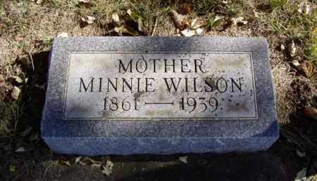 WILSON, MINNIE - Minnehaha County, South Dakota | MINNIE WILSON - South Dakota Gravestone Photos