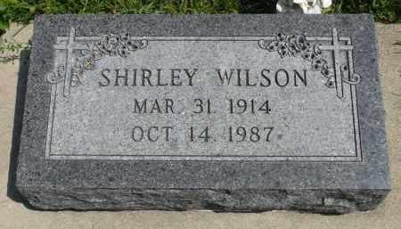 WILSON, SHIRLEY - Minnehaha County, South Dakota | SHIRLEY WILSON - South Dakota Gravestone Photos