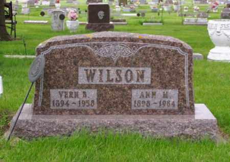 WILSON, VERN BORGE - Minnehaha County, South Dakota | VERN BORGE WILSON - South Dakota Gravestone Photos